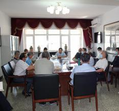 8月14日,基金会召开第六届理事会换届大会